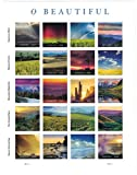 USPS Forever Stamps O Beautiful Sheet of 20 Stamps