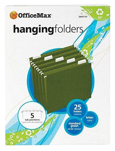 officemax-hanging-folders-standard-green-letter-1-5-cut-25-box