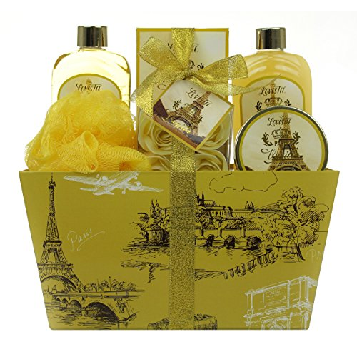 Spa Gift Basket with Vanilla