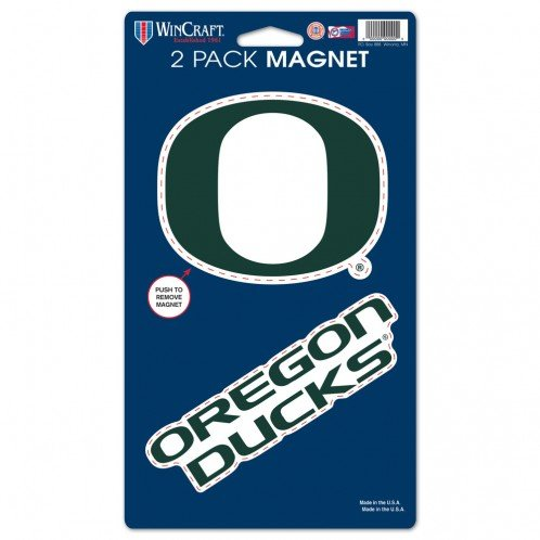 - WinCraft NCAA University of Oregon WCR28599014 Magnets (2 Pack), 5