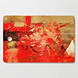 Society6 Wooden Cutting Board, Rectangular, Old Steam Locomotive by fernandovieira