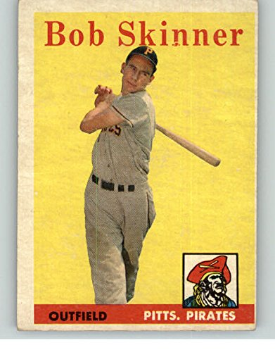 1958 Topps #94 Bob Skinner Pirates EX 349587 Kit Young Cards