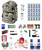 Combo Survival Kit Two for Earthquakes, Hurricanes, Floods, Tornadoes, Emergency Preparedness