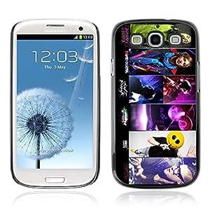 A-type Arte & diseño plástico duro Fundas Cover Cubre Hard Case Cover para Samsung Galaxy S3 III / i9300 i717 ( Skrillex, Deadmau5, Daft y Aoki )
