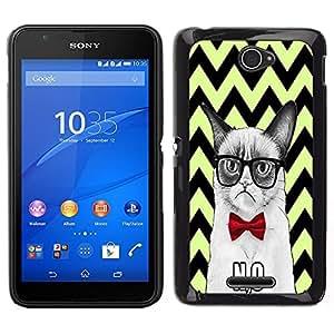 Dragon Case - FOR Sony Xperia E4 - A person live in love - Caja protectora de pl??stico duro de la cubierta Dise?¡Ào Slim Fit
