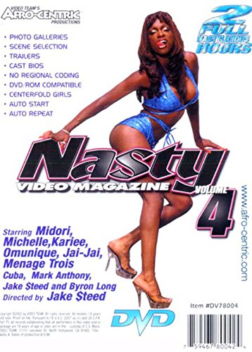 Nasty Video Magazine Vol 4 Amazon Co Uk Midori Kari