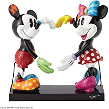 Disney by Britto Mickey and Minnie Stone Resin Figurine