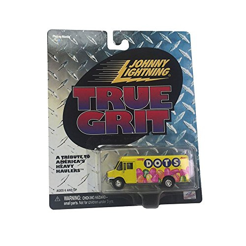 True Grit Costumes (Johnny Lightning True Grit Chevrolet Dots Tribute to America's Heavy Haulers Diecast Metal Car Replica)