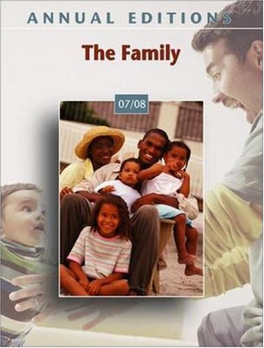Annual Editions: The Family 07/08