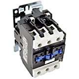 Direct Replacement for TELEMECANIQUE LC1-D50 AC Contactor LC1D50 LC1D5011-G6 120V Coil 3 Phase 3 Pole 50 Amp