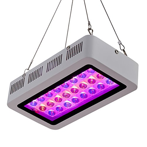PrimeGarden Full Spectrum LED 300W Grow Light + 36''X20''X63'' 600D High Reflective Mylar Grow Tent Dark Room+4'' Inline Fan Air Carbon Filter Ducting Combo Ventilation Equipment for Plant Growing Hydroponic Grow Tent Complete Kit Hydroponic Growing System (36''x20''x63''+LED300W+4'' Filter Combo)