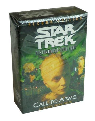 (Star Trek 2nd Edition CCG Call to Arms Borg Deck)
