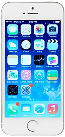 Apple iPhone 5s GSM Unlocked Cellphone, 32 GB, Silver (Prepaid Iphones Boost Mobile)