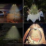 Patio Umbrella Light Warm White 3 Lighting Modes