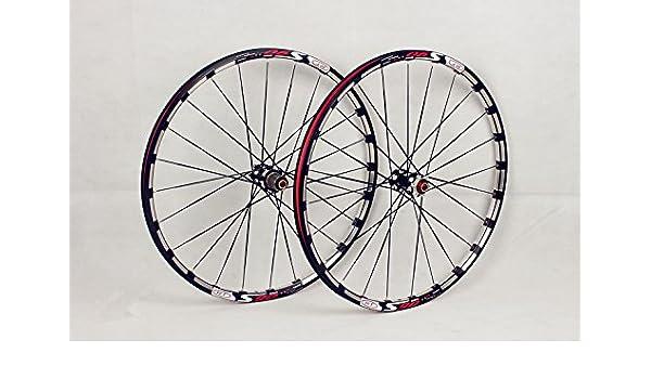 9b6643b735a MTB Mountain Bike Bicycle 27.5inch Milling trilateral Alloy Rim Carbon Hub  Light Wheels Wheelset: Amazon.ca: Sports & Outdoors