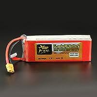 New ZOP Power 14.8V 5500mAh 4S 60C Lipo Battery XT60 Plug By KTOY
