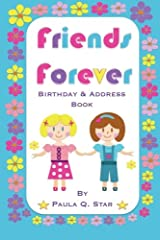 Friends Forever Birthday and Address Book Paperback