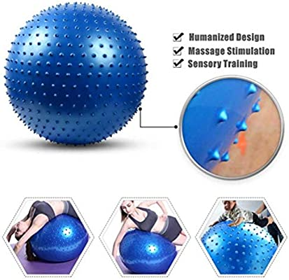 FLYWM, equilibrio media pelota pilates ball balones ball cojin ...