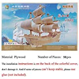 3d DIY Wooden Puzzle Toy or Hobby Decorative