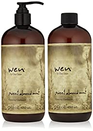WEN by Chaz Dean Wen Sweet Almond Mint Cleansing Conditioner Duo, 16 fl. oz.