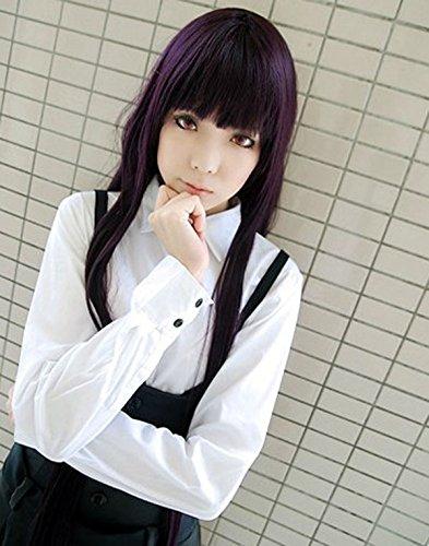 Sunny-business Long Purple Inu X Boku Secret Service of Cosplay Wigs