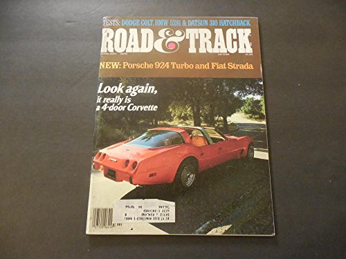 - Road And Track Feb 1979 4 Door Corvette (No, Seriously)