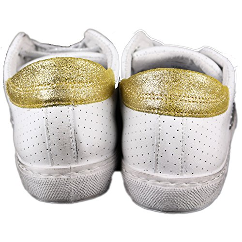 Mujer Zapatillas Star para Bianco Blanco 2 qatTwSW