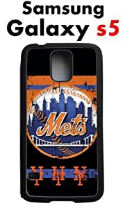 NY Mets New York Mets Samsung Galaxy s5 Case Hard Silicone Case by runtopwell