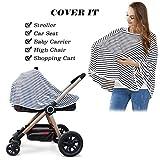 Baby Nursing Cover & Nursing Poncho - Multi Use