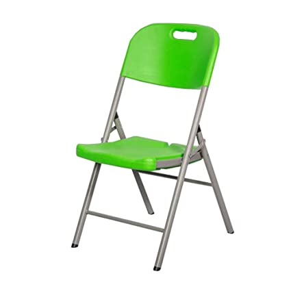 WYYY silla de Oficina Silla Plegable HDPE Escritorio ...