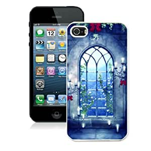 Customized New Iphone 5/5s Case Cover Beautiful Gothic Design Cheap Mobile Phone Mate Protector