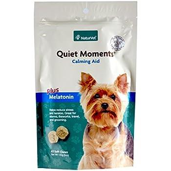 NaturVet Quiet Moments Soft Chews for Dogs - 5 oz. (65 count)
