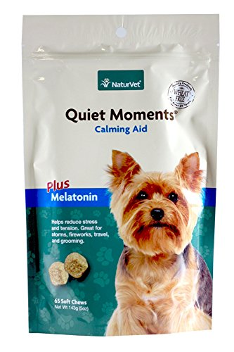 Naturvet Quiet Moments Soft Chews For Dogs - 5 Oz....