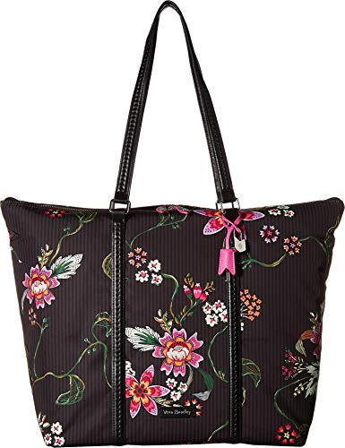 Lined Pocket Fully Tote Two (Vera Bradley Women's Midtown Tote Airy Floral One Size)