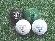 """Forum Novelties 59947 Joke Golf Balls""""Over The Hill"""" Great Gift Hilarious Party Supplies"""