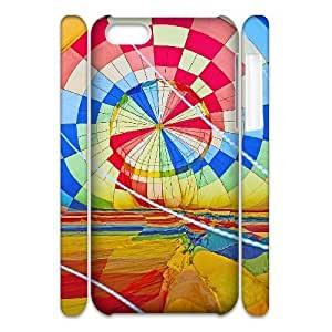 Cell phone 3D Bumper Plastic Case Of Balloon For iPhone 5C