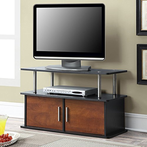 Convenience-Concepts-Deluxe-2-Door-TV-Stand-with-Cabinets