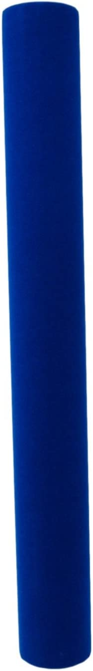 Self-Adhesive Blue Velour Plush Contact Paper Multi-Purpose Soft Fabric Paper For Arts And Crafts Navy Blue 6 FT Roll 18 in x 6 ft/""