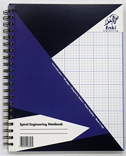 Engineering Paper 200 sheet - Spiral Notebook (Blue ()