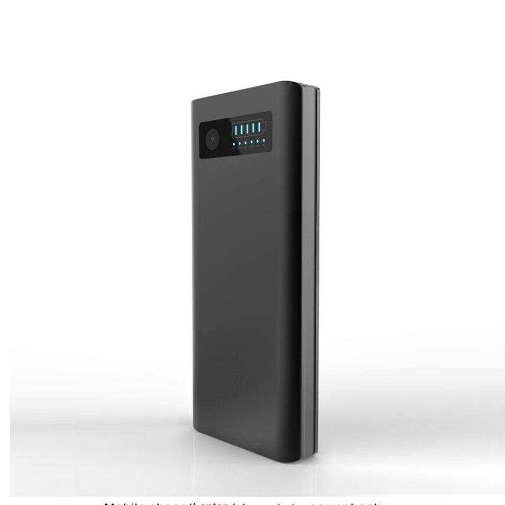 Gamech 20100mah powerbank in-car Jump Starter, 5v 12v 16.5v 19v 20v 24v Charger for Laptop & Notebook & Mobile
