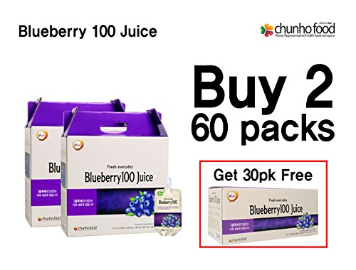 (Special Promotion) Chunho Food Blueberry 100 Juice by Chunho Food