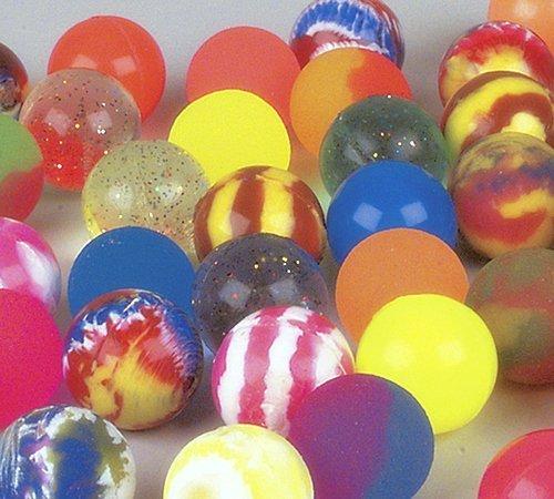 Rubber Bouncy Balls (12 Hi Bounce Balls, (1.25 inch))