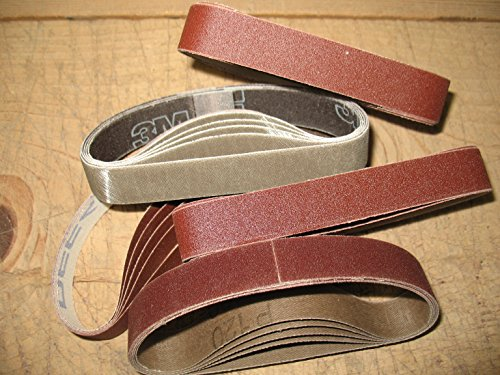 Econaway Abrasives 3/4X12 Twenty-Five Piece Belt GENERAL Assortment-(Compatible with Work Sharp Ken Onion Knife & Tool Sharpener) (Grinder Onion Ken)