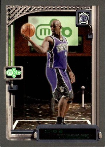 2003 Topps Rookie Matrix Basketball Card (2003-04) #33 Chris Webber Near Mint/Mint -