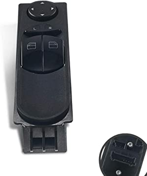 Window Wing Mirror Control Switch Left Side For Mercedes Sprinter W906 2007 on