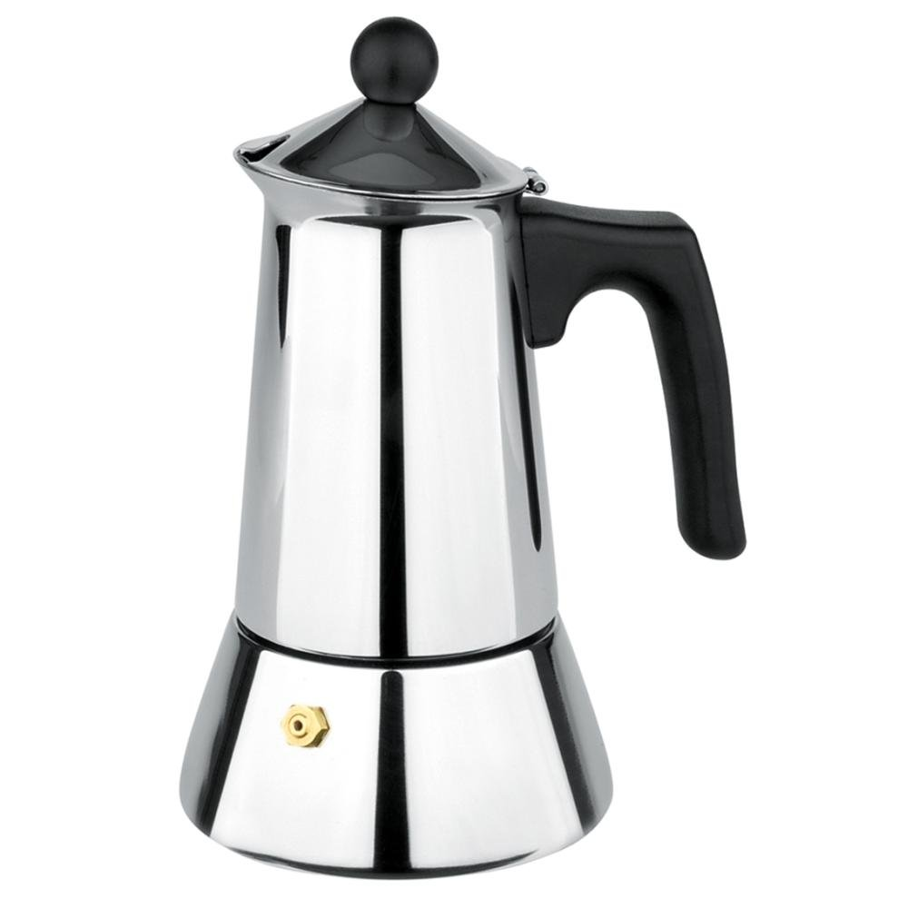 gnali&zani VUL 006 Vulcano Coffee Maker 6 Cups, Multi Color gnali&zani_VUL 006