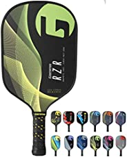Gamma Poly Core Pickleball Paddle: Pickle Ball Paddles for Indoor & Outdoor Play - Textured Graphite or Co
