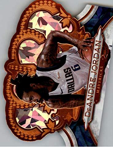 2018-19 Crown Royale Crystal Basketball #148 DeAndre Jordan SER/99 Dallas Mavericks Official NBA Trading Card From Panini ()