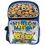 """Despicable Me Minion 16"""" Backpack - NEW Licensed - Mishap"""