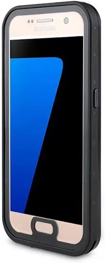 Mangix Waterproof Case Compatible Galaxy S7,Built-in Screen Protector Dust-Proof, Snow-Proof, Shock-Proof, Waterproof Case for Samsung Galaxy S7-Black